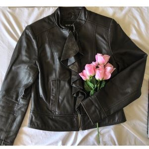 🎉NINE WEST🎉 100% Leather Jacket NWOT